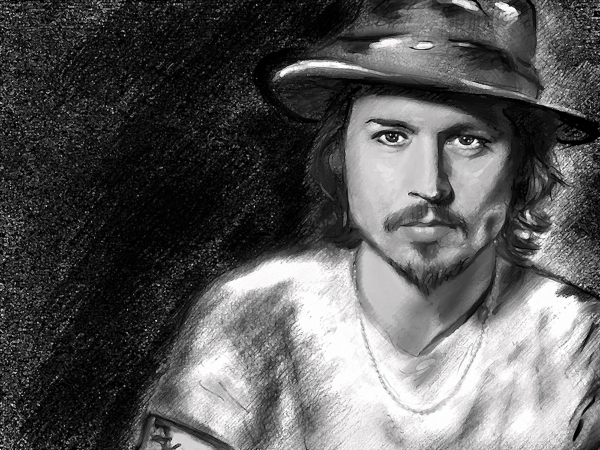 Johnny Depp by jadedemarseille